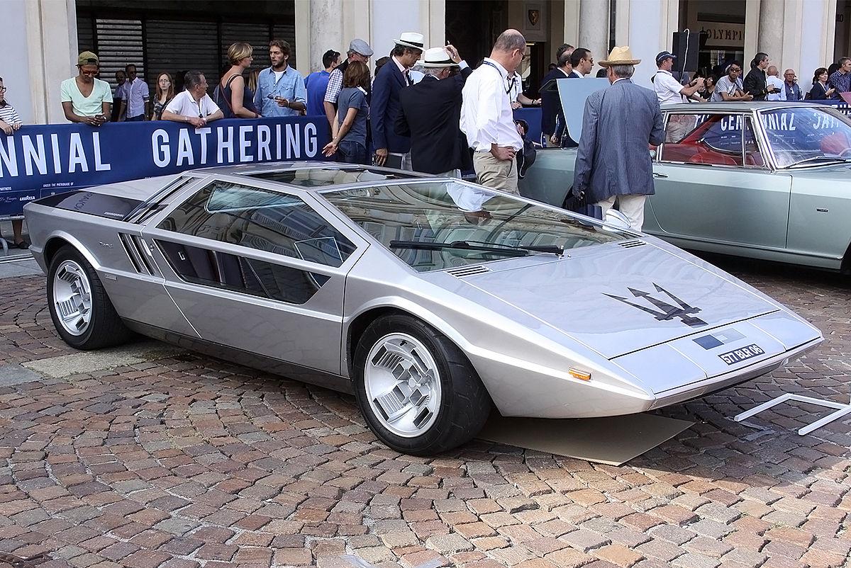 Maserati Tipo 117 Italdesign Boomerang  Wikipedia