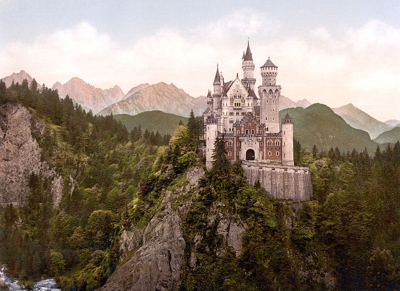 File:Neuschwanstein Castle LOC print rotated.jpg