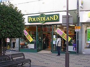 English: Poundland - Kirkgate