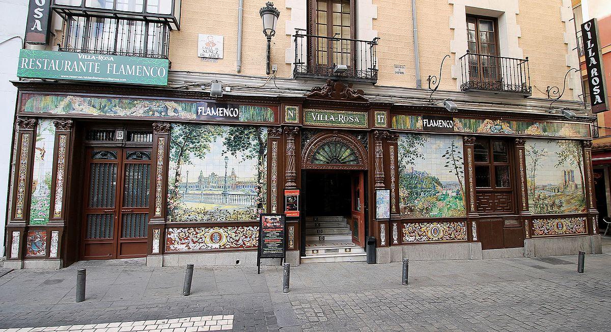 Villa Rosa Madrid  Wikipedia la enciclopedia libre