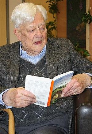 English: Richard Adams, author of 'Watership D...