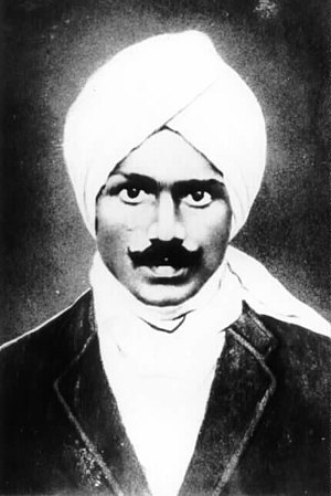 Image result for Images of Mahakavi Bharathiyar and VO Chidambaram Pillai.