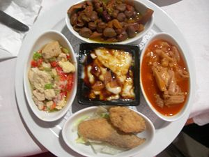"A type of Spanish food known as ""Tapas&qu..."