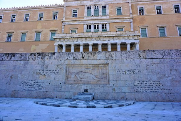 Tomb of the Unknown Soldier, Athens - Joy of Museum
