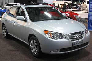 2010 Hyundai Elantra photographed at the 2010 ...