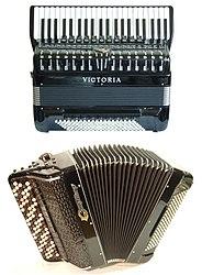 A convertor free-bass piano-accordion and a Russian bayan.jpg