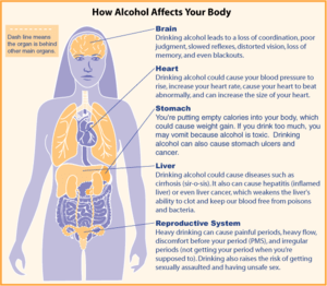 Alcohol diagram