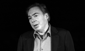 "Andrew Lloyd Webber at the set of ""How do..."