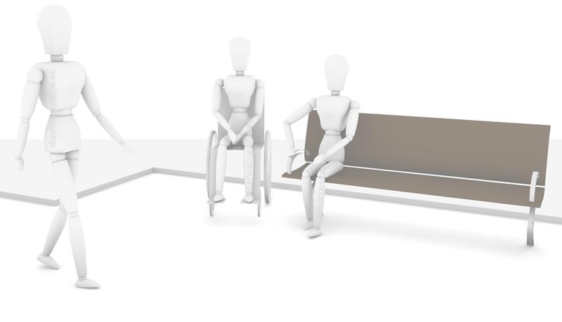 Arquitectura y diseño accesible - bancos y asientos