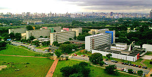 Students' dorms at University of Sao Paulo mai...