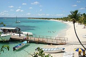 Polski: Isla Catalina, Dominicana
