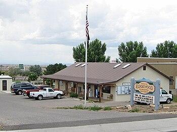 English: Edgewood (New Mexico) Municipal Offic...