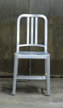 steel chair manufacturing process galvanized emeco 1006 wikipedia navy png