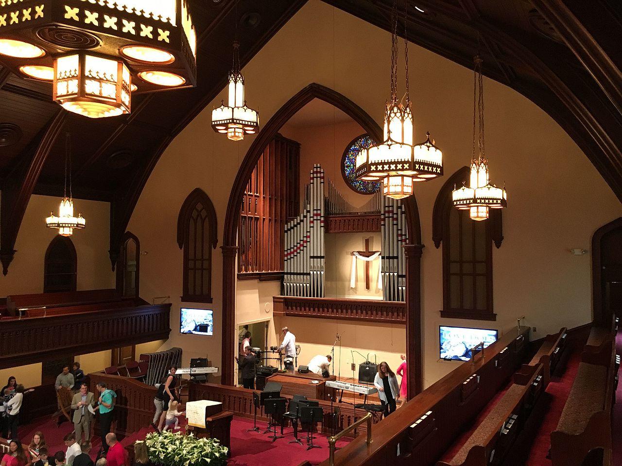FileFirst Baptist Church Wilmington Interior Facing Altar