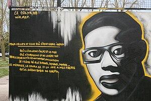 Hommage à Aimé Césaire sur le Skatepark de Royan
