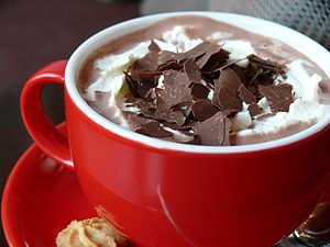 Deutsch: Heiße Schokolade von Charlottes Enkel