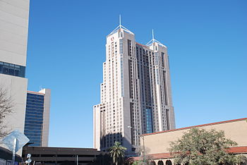 Marriott Rivercenter, tallest building in San ...