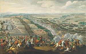 Tranh vẽ trận Poltava