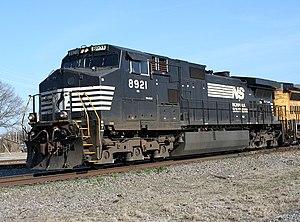 Norfolk Southern 8921 GE C40-9W (Dash 9-40CW)