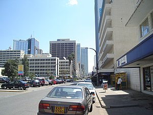 English: Beautiful City of Nairobi