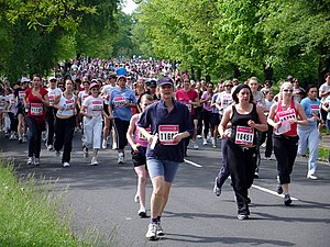 Race For Life, on Durdham Downs. The Race For ...
