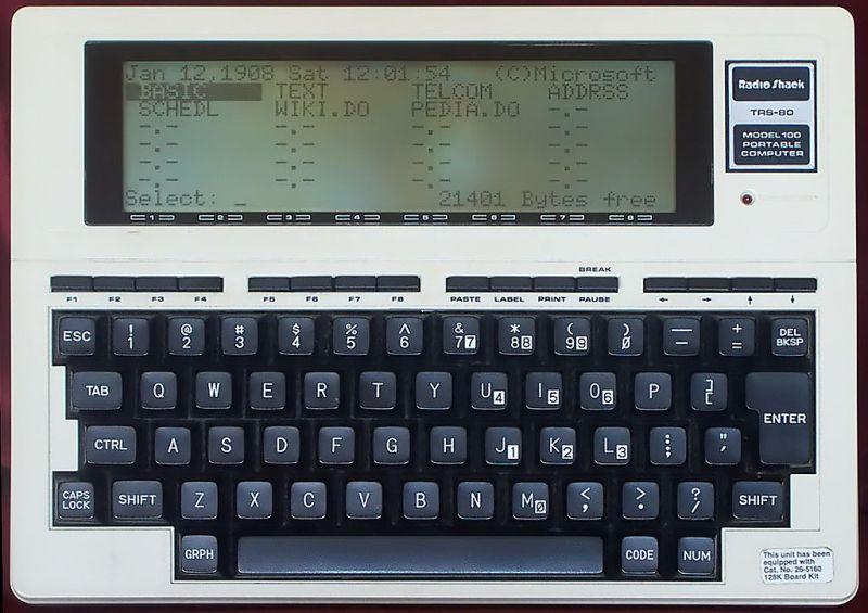 Radio Shack TRS-80 Model 100.jpg