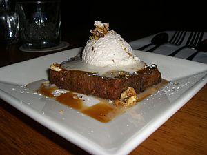Roasted Pumpkin Bread Pudding