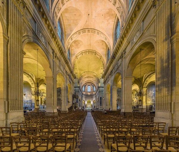 File Saint-nicolas-du-chardonnet Nave Paris France