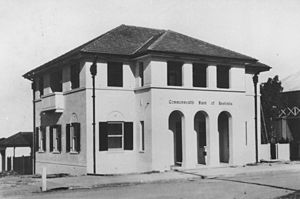 English: Commonwealth Bank of Australia in Bow...