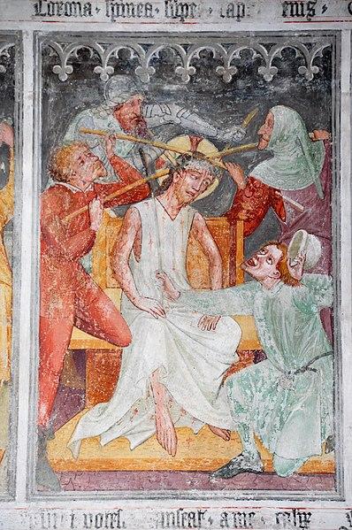 File:Thoerl Pfarrkirche St Andrae Passion 10 Dornenkroenung 08022013 271.jpg