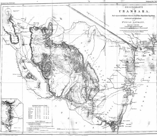 Usambara 1889 B002
