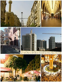 Beirut Central District Collage