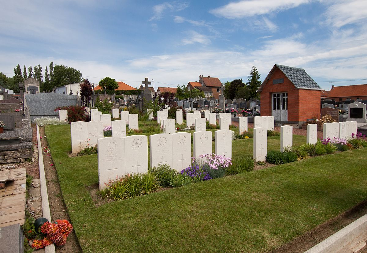 Beuvry Communal Cemetery And Extension  Wikipdia