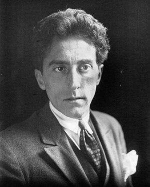 """Français : Portrait de """"Jean Cocteau, hom..."""