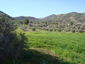 English: Cyprus countryside in Troodos Mountains