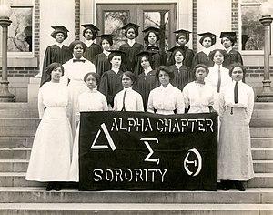 22 Founders of Delta Sigma Theta taken in 1913