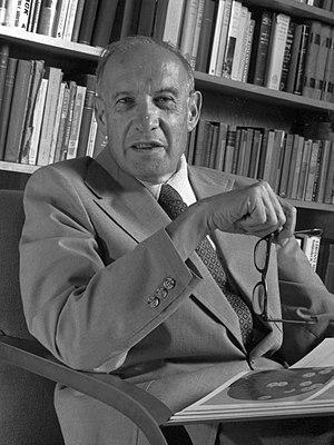 Español: Peter F. Drucker, padre de la adminis...