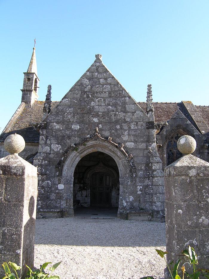 Chapelle Du Grouanec Monument Historique Plouguerneau
