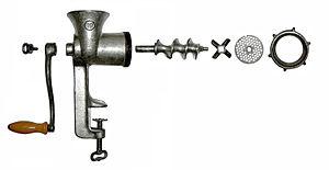 electric grinder kitchen ada compliant sink meat - wikipedia