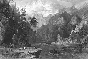 Gangotri, Ganges River, 1850s