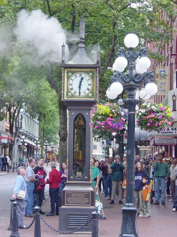 Steam Clock - Wikipedia