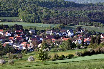 Deutsch: Ein Blick auf Leitersweiler, Saarland