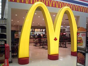 McDonald's Canada at a Wal-Mart Canada in Toro...