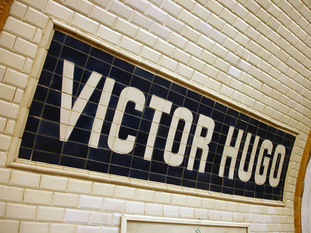 Estacin de Victor Hugo  Wikipedia la enciclopedia libre