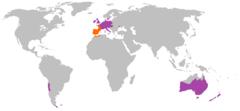 Distribución de O. cuniculus