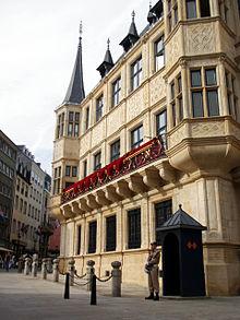 Palazzo Granducale di Lussemburgo  Wikipedia