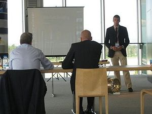 Business Plan Presentation at FSG 2009