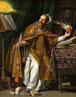 St Augustine by Philille de Champaigne