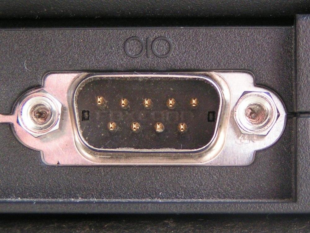 medium resolution of standard r 232 9 pin pinout