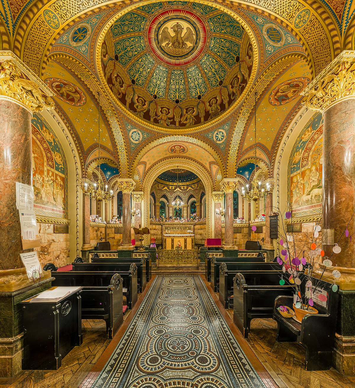 St Christophers Chapel Great Ormond Street Hospital